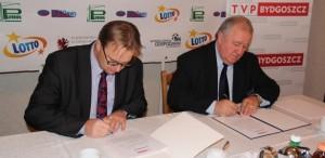 umowa patronatu z TVP Bydgoszcz