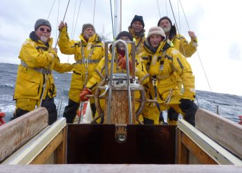 10. rocznica opłynięcia Hornu przez załogę jachtu Solanus